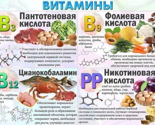 где живут витамины